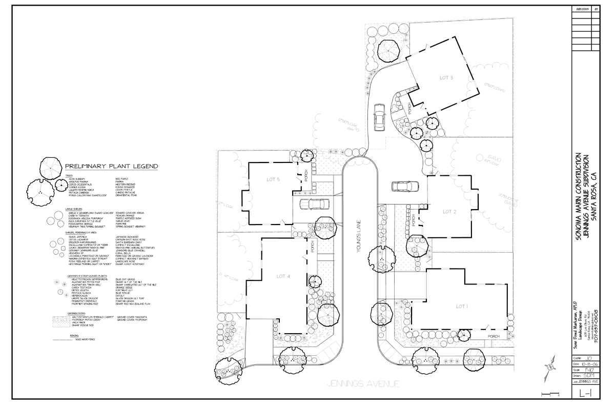 Small Lot Designs Small Lot Subdivision